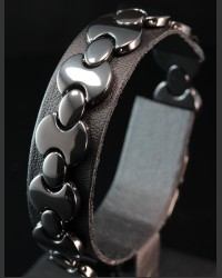 Black Shadow Ceramic Bracelet