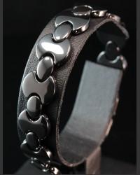 Black Shadow Ceramic Bracelet