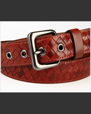 Cavalier Chestnut Men's Leather Belt