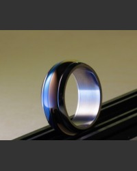 Bi-Colour Stainless Steel Ring