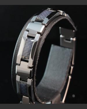 Silverstone Tungsten Carbon Fibre Bracelet