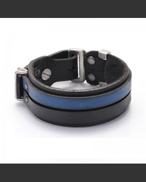 Explorer Leather Cuff Men's Bracelet