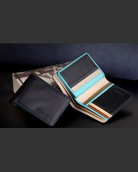 Mansoura Leather Multicolour Wallet