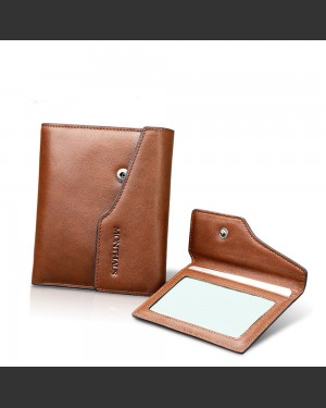 Monaco Series Leather ID Wallet