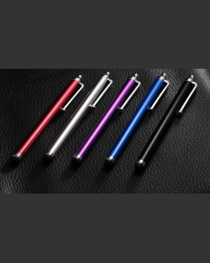 Satin Aluminium Touch screen Stylus