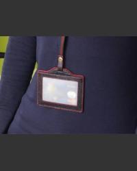 Executive Leather ID Card Holder